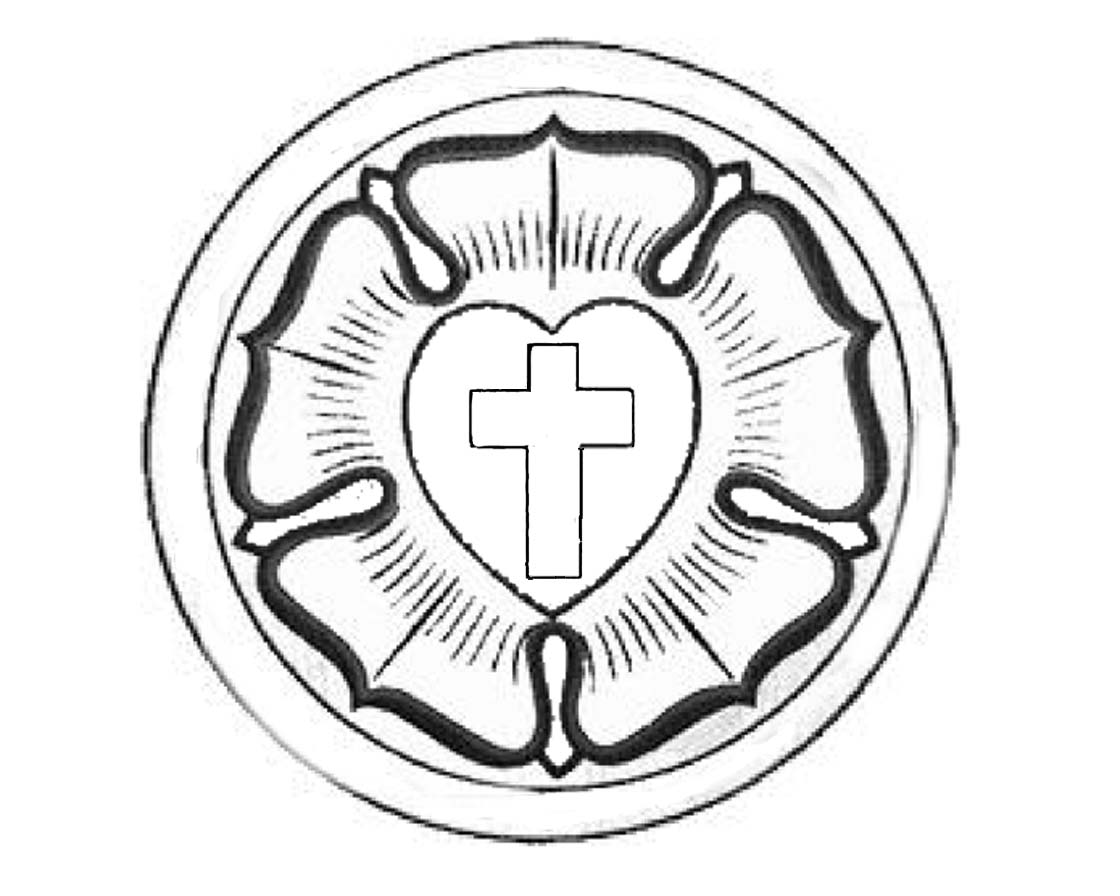 Luther's Seal http://www.concordianews.org/kids/2007/reformation/color.htm