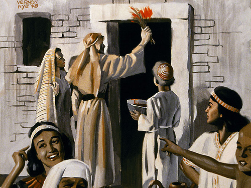 passover festival celebrates mosess leading of jews from pharoahs rule Passover is one of the most important jewish holidays, celebrating the time when moses led the jewish people out of enslavement in egypt to freedom the festival, pesach in hebrew, lasts seven.